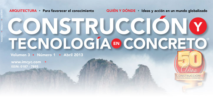 Boletín de noticias - Marzo 2013 - Instituto Mexicano del Cemento y del Concreto A.C.