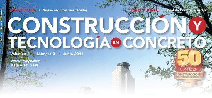 Boletín de noticias - Junio 2013 - Instituto Mexicano del Cemento y del Concreto A.C.