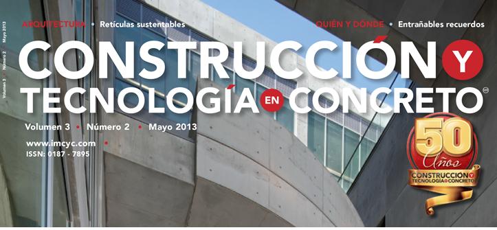 Boletín de noticias - Mayo 2013 - Instituto Mexicano del Cemento y del Concreto A.C.