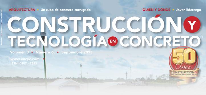 Boletín de noticias - Agosto 2013 - Instituto Mexicano del Cemento y del Concreto A.C.