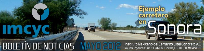 Boletín de noticias - Mayo 2012 - Instituto Mexicano del Cemento y del Concreto A.C.