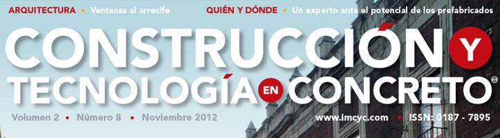 Boletín de noticias - Noviembre 2012 - Instituto Mexicano del Cemento y del Concreto A.C.