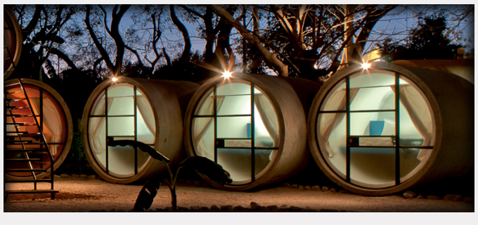 habitaciones tubulares