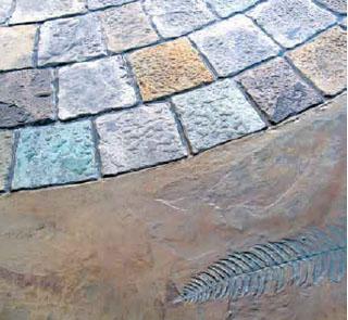 Concretando concreto estampado for Pigmento para cemento
