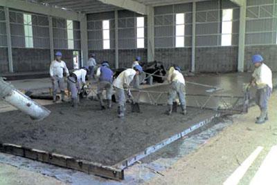 Ingenier a - Como se echa un piso de cemento ...