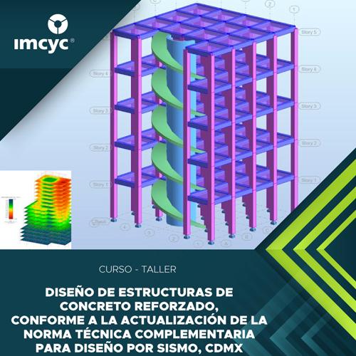 Diseño de estructuras de concreto reforzado, conforme a la actualización de la norma técnica complementaria para diseño por sismo, CDMX
