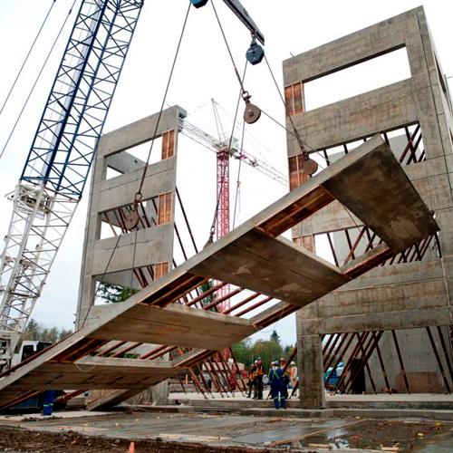 Supervisor y técnico de construcciones Tilt-Up