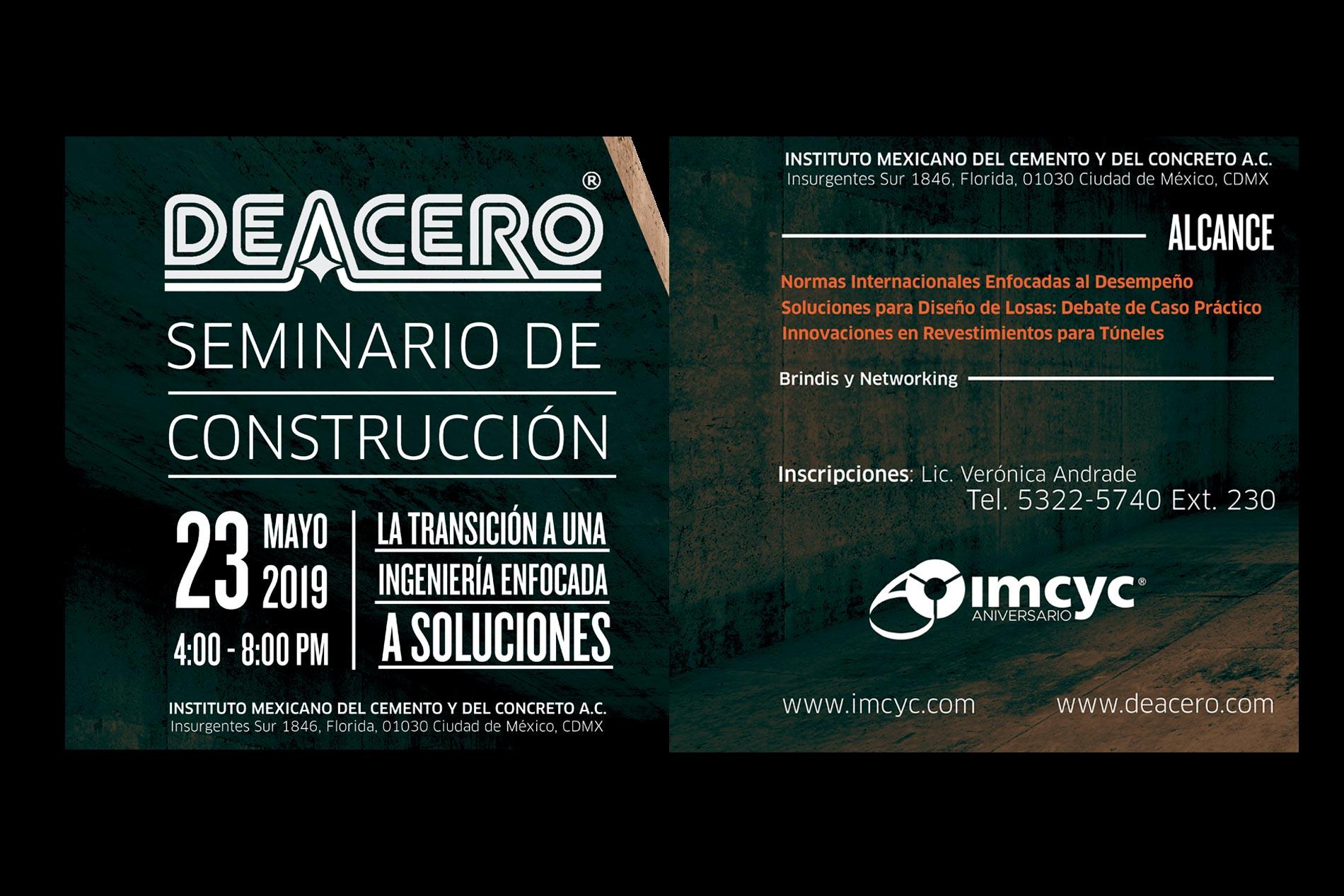 seminario de construcción